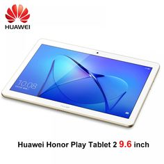 Huawei honor Play tablet 2 9.6 inch LTE Snapdragon 425 3G RAM 32G Rom Andriod 7 8MP 4800mah IPS tablet pc Honor T2 huawei T3  Price: $ 322.99 & FREE Shipping   #computers #shopping #electronics #home #garden #LED #mobiles Honor Huawei, Girl's Generation, Internet Network, Security Equipment, Shops, Types Of Cameras, Bluetooth Speakers, Wifi, Etsy