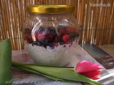 Jogurt s chia semienkami