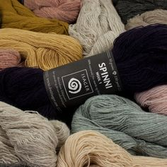 A delicate looking but sturdy 100% lambs wool single ply lace weight yarn in incredibly beautiful colors.