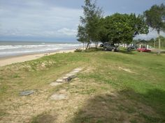 A beach in Brunei - spent a few years of my childhood going to the beach in Brunei on weekends.