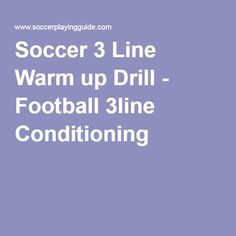 Soccer Passing Warm up Drill - Football Passing Exercise Soccer Warm Up Drills, Soccer Warm Ups, Soccer Workouts, Workout Warm Up, Conditioner, Football, Exercise, Soccer, Ejercicio
