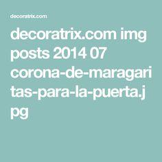 decoratrix.com img posts 2014 07 corona-de-maragaritas-para-la-puerta.jpg