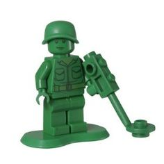 Black Friday 2014 Green Army Man (Mine Sweeper) - LEGO Toy Story Minifigure from LEGO Cyber Monday. Black Friday specials on the season most-wanted Christmas gifts. Green Army Men, Green Man, Disney Precious Moments, Lego Furniture, Lego Toy Story, Lego People, Lego Construction, Black Friday Specials, Green Toys
