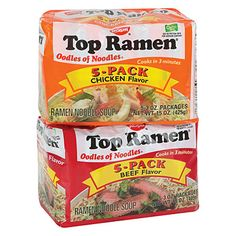 Nissin® Top Ramen® Noodles, 5-Pack at Big Lots.