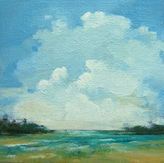 tiny paintings: painting well on etsy