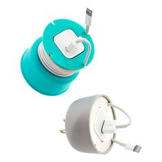 Our Powercurl Mini is the perfect cord wrap solution for your USB cable, and Apple 5w power adapter. Simply slide your adapter into the center of the Powercurl Mini, and wrap your USB cord around it, then flip over the silicone cover to keep the cords firmly in place for easy transport no matter where you go.