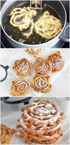 Mini Funnel Cakes