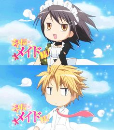 Maid-sama I love this anime! But I like the manga more personally