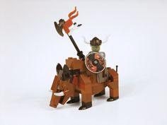 Goblin King and Mount Lego Creative, Lego Army, Lego Boards, Lego Activities, Goblin King, Lego Minifigs, Lego Mecha, Lego Castle, Cool Lego Creations
