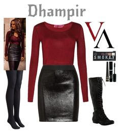 """""""Vampire Academy - Rose Hathaway"""" by gone-girl ❤ liked on Polyvore featuring moda, Toast, Boohoo, Mason by Michelle Mason, Nine West e Barry M"""