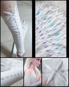 ― Sakura Chiisai( 「Today I finished the sleeves of my Elsa Spirit dress and put the stones on it. I poured all the…」 Frozen Cosplay, Elsa Cosplay, Frozen Costume, Cosplay Diy, Disney Cosplay, Anna E Elsa, Queen Elsa, Disney Princess Frozen, Elsa Frozen