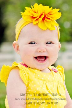 baby girl bright head bands