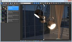 V-Ray Frame Buffer