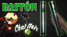 ♥ Tutorial: Bastón/Vara/Báculo de Chat Noir (Muy fácil) [Miraculous Lady...