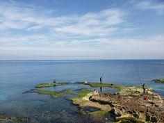 Mediterranean Sea, Beirut, Lebanon, and the fishermen Beirut Lebanon, Mediterranean Sea, Water, Outdoor, Gripe Water, Outdoors, Outdoor Games, The Great Outdoors