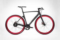 Wired carbon fiber urban bike by Vanhawks