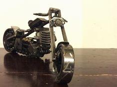 Un preferito personale dal mio negozio Etsy https://www.etsy.com/it/listing/544457487/modellino-moto-realizzata-in-metallo