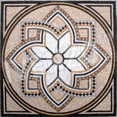 Free Mosaic Patterns for Beginners Free Mosaic Patterns, Mandala Pattern, Mandala Art, Mosaic Wall, Mosaic Glass, Mosaic Tiles, Paving Pattern, Plaster Sculpture, Marble Art