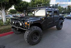 Hummer H1... If I ever hit the lotto...  I already did...it's sitting in the garage