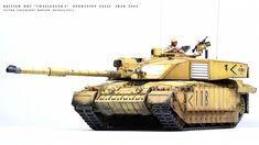 """British MBT """"Challenger 2"""" — Каропка.ру — стендовые модели, военная миниатюра"""