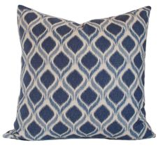 blue pillow cover 20x20 blue throw pillows decorative pillow for couch toss pillow sofa cushion accent pillow couch cushions