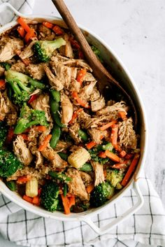 Our teriyaki chicken casserole recipe is a great way to make teriyaki! It is a healthy dump casserole filled with your favorites ingredients!