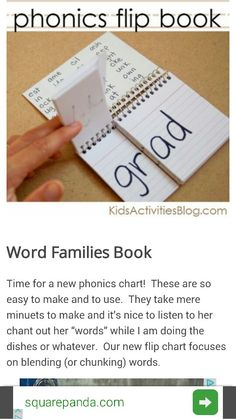 http://kidsactivitiesblog.com/6412/word-families-flip-book?utm_source=spaceshipsandlaserbeams.com&utm_medium=referral&utm_campaign=pubexchange