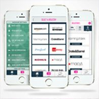 WedPics Wedding iPhone App showing Registries An app for you and your guest to share photos from your wedding!