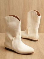 White Go-Go Boots - We had it goin on back in the day!