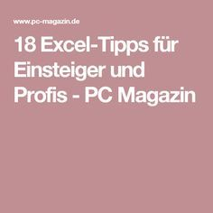 18 Excel tips for beginners and professionals - PC Magazin - 18 Excel tips for beginners and professionals – PC Magazin - E Learning, Microsoft Excel, Microsoft Office, Excel Tips, Excel Budget, Budget Spreadsheet, Homemade 3d Printer, Geek Wedding, Old Computers
