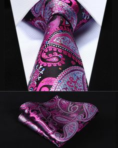 Item Type: Ties Department Name: Adult Style: Fashion Ties Type: Neck Tie Set Material: Silk Gender: Men Pattern Type: Floral Size: One Size * 14 Day hassle Free return policy * Allow 6 to 8 weeks for delivery * Safe and secure checkout Pocket Square Guide, Tie And Pocket Square, Pocket Squares, Sharp Dressed Man, Well Dressed Men, Man Weave, Suit Accessories, Skinny Ties, Men Style Tips