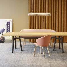 TRESTLE TABLE - Designer Trestles from Arco ✓ all information ✓ high-resolution images ✓ CADs ✓ catalogues ✓ contact information ✓ find your. Dining Room Table, Dining Chairs, Trestle Table, Furniture Companies, Solid Oak, Contemporary Furniture, Aluminium, House Colors, Interior Inspiration