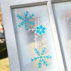 Creatively Colorful Holiday Clings