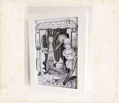 Diorama de Caperucita.