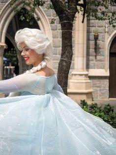 Elsa Disneyland Face Characters, Disney Face Characters, Elsa Character, Frozen Face, Best Sister Ever, Walter Elias Disney, Frozen Elsa Dress, Kim Possible, Queen Elsa