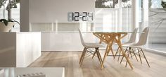 Elegantly Designed Digital Clock Uses E-Ink to Tell Time - My Modern Met