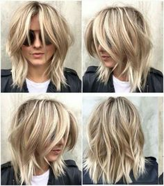 Most Impressive Short Shag Hairstyles for Women You Must Try ., Frisuren, Most Impressive Short Shag Hairstyles for Women You Must Try . Short Shag Hairstyles, Top Hairstyles, Medium Shag Haircuts, Summer Hairstyles, Layered Haircuts, Haircut Medium, Trending Hairstyles, Shaggy Medium Hair, Lob Layered Haircut