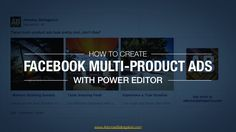 Here's a detailed step-by-step guide on how to create Facebook multi-product ads!  For a more detailed article, visit: http://www.adomasbaltagalvis.com/2015/02…
