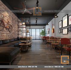 Thiết kế cửa hàng cà phê tại Bắc Giang