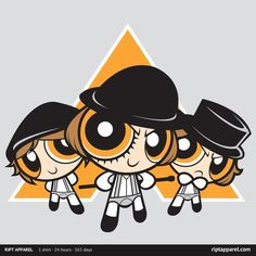The Ultraviolence Boys - Powerpuff Girls / A Clockwork Orange mashup
