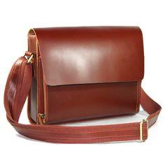 Handmade Genuine Leather Messenger Satchel