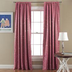 Lush Decor Star Blackout Curtain Panels & Reviews | Wayfair