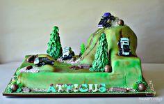Kids 4x4 cake Jeep Cake
