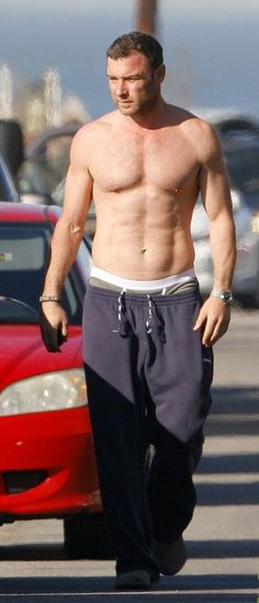 Liev Schreiber.  It's more than a crush.  I want to devour him.