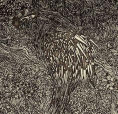 Etsuko Fukaya's finely detailed etchings