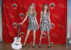 Pin for Later: Saurez-Vous Faire la Différence Entre Ces Célébrités et Leurs Figures de Cire? Taylor Swift