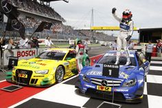 Gary Paffett gewinnt auf dem Lausitzring