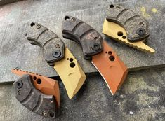 Koch Tools WharHawks knives.