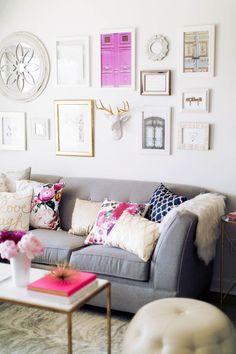 Love the mix of patterns and pop of color LystHouse is the simple way to buy or sell your home. Visit http://www.LystHouse.com to maximize your ROI on your home sale.