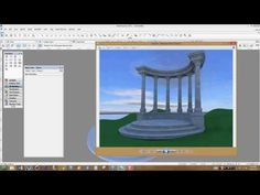 The second part of the Greek Pavilion modeling tutorial. University Of Oregon, Online Tutorials, Pavilion, Gazebo, Outdoor Structures, Learning, World, Youtube, Model